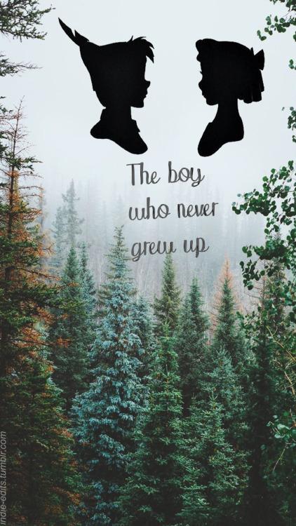 Neverland Quotes Wallpaper Peter Pan Lockscreens Tumblr