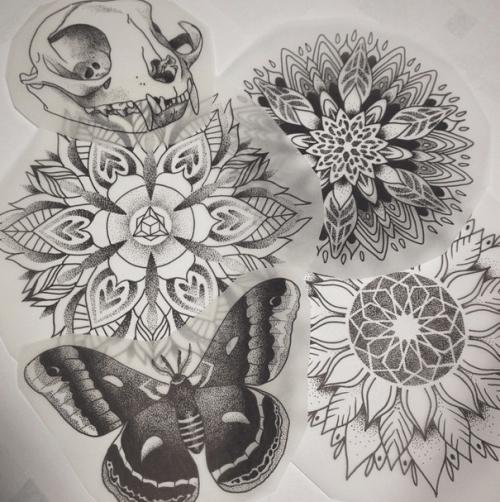 Inked Girl Wallpaper Mandala Tattoo On Tumblr