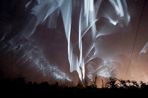 Falling Stars Wallpaper Aurora Borealis Tumblr