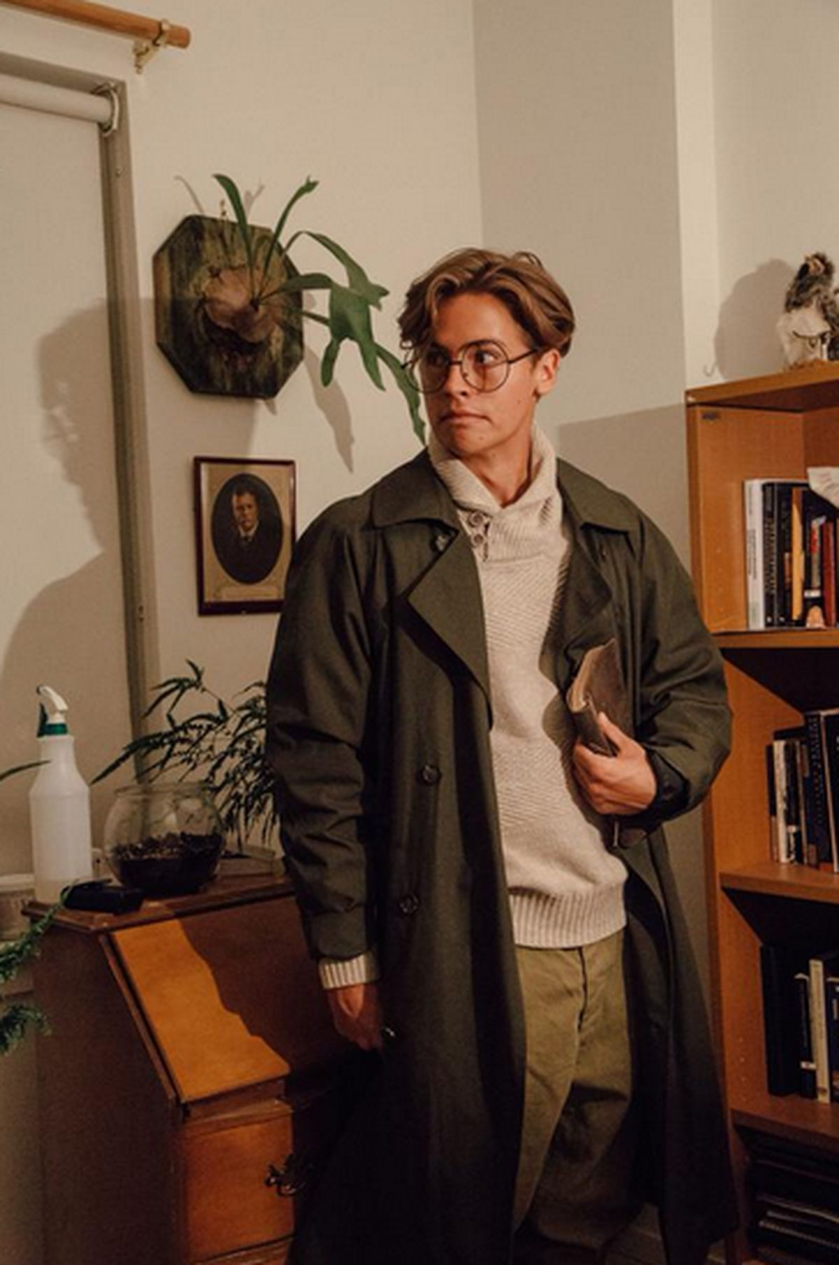 Cigarette Wallpaper Hd Cole Sprouse Cosplaying As Milo Thatch This Is