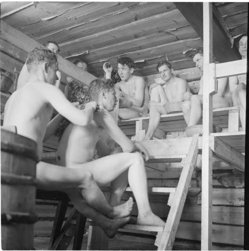 mixed saunas in finland