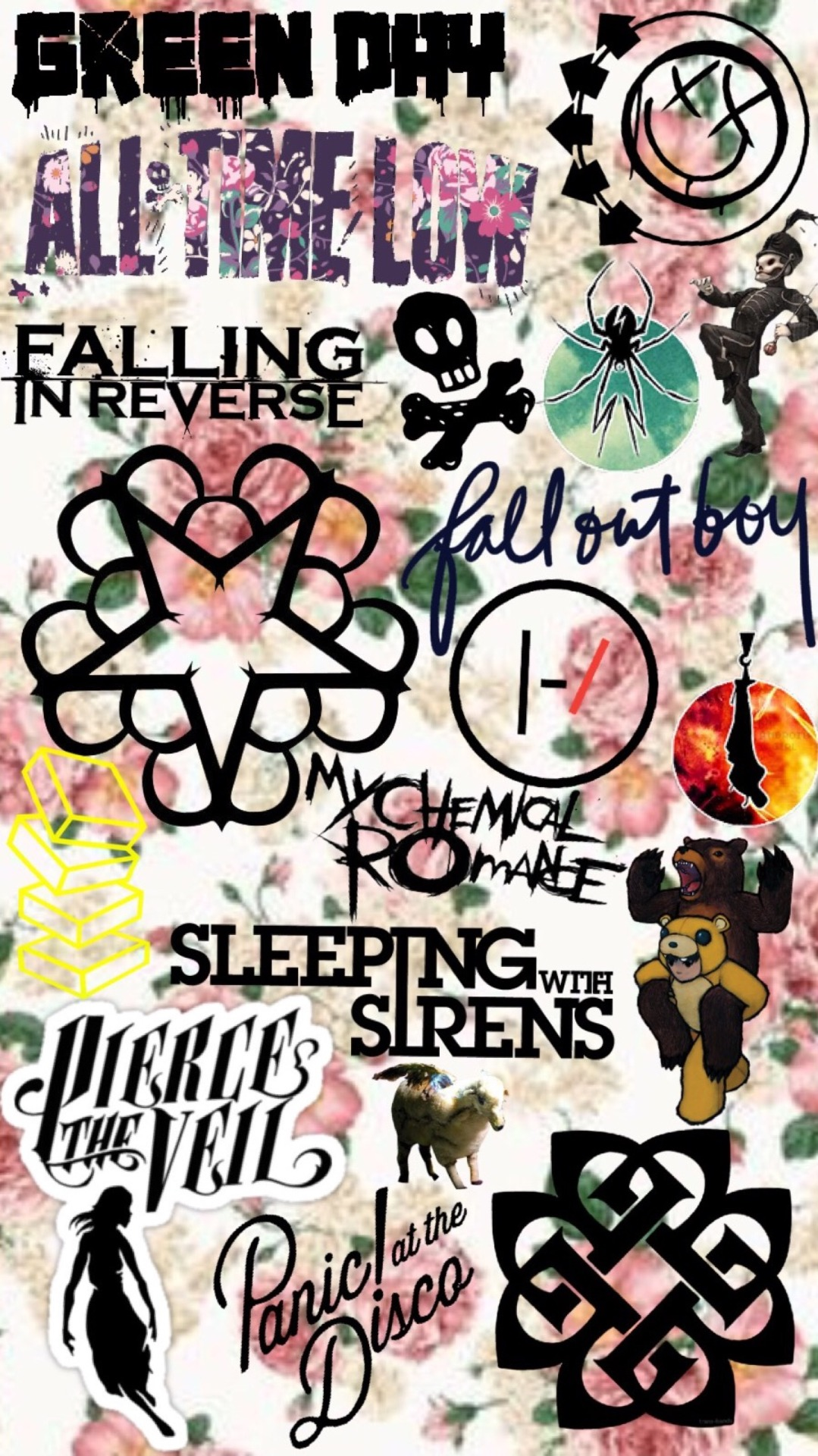 Falling In Reverse Wallpaper Iphone 4 All I Wanna Do Is Listen To My Music