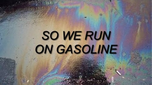 Halsey Wallpaper Quotes The Song Is Gasoline By Halsey Tumblr