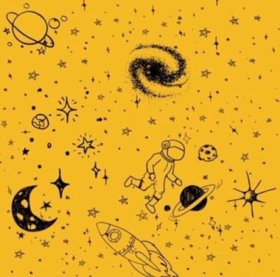 yellow theme on Tumblr