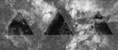 galaxy triangle on Tumblr