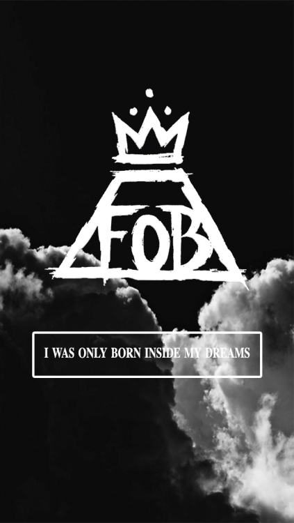 Fall Out Boy Logo Iphone Wallpaper Fall Out Boy Wallpaper On Tumblr
