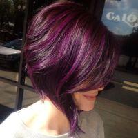 eggplant color hair   Tumblr