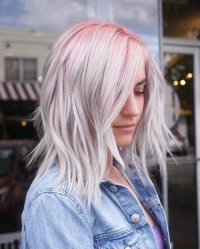 grey ombre hair | Tumblr