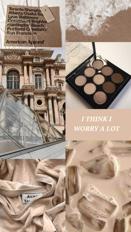 Cute Couples With Quotes Wallpaper Beige Brown Aesthetic Tumblr
