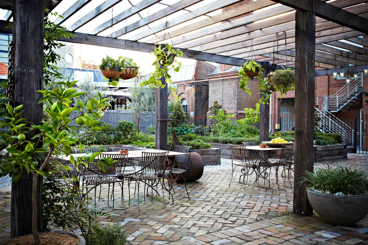 Bru Coffee Green Garden All The Days Ordained The Grounds Of Alexandria In Sydney