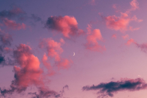 Cute Cloud Wallpaper Moon Sky Tumblr