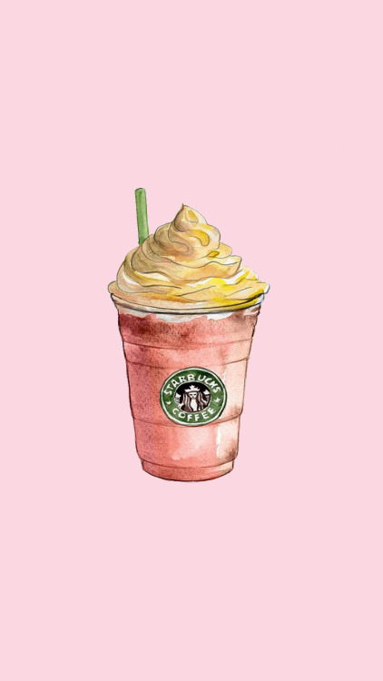 Pink Fall Quote Wallpaper Wallpaper Starbucks Tumblr