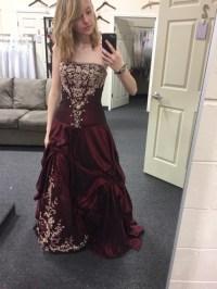 maroon prom dresses   Tumblr