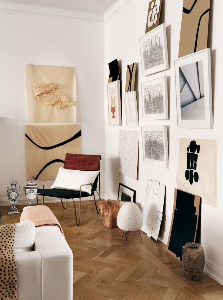 paleta perfecta Inside Pinterest Art walls, Interiors and Walls