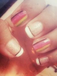 easy nail design on Tumblr