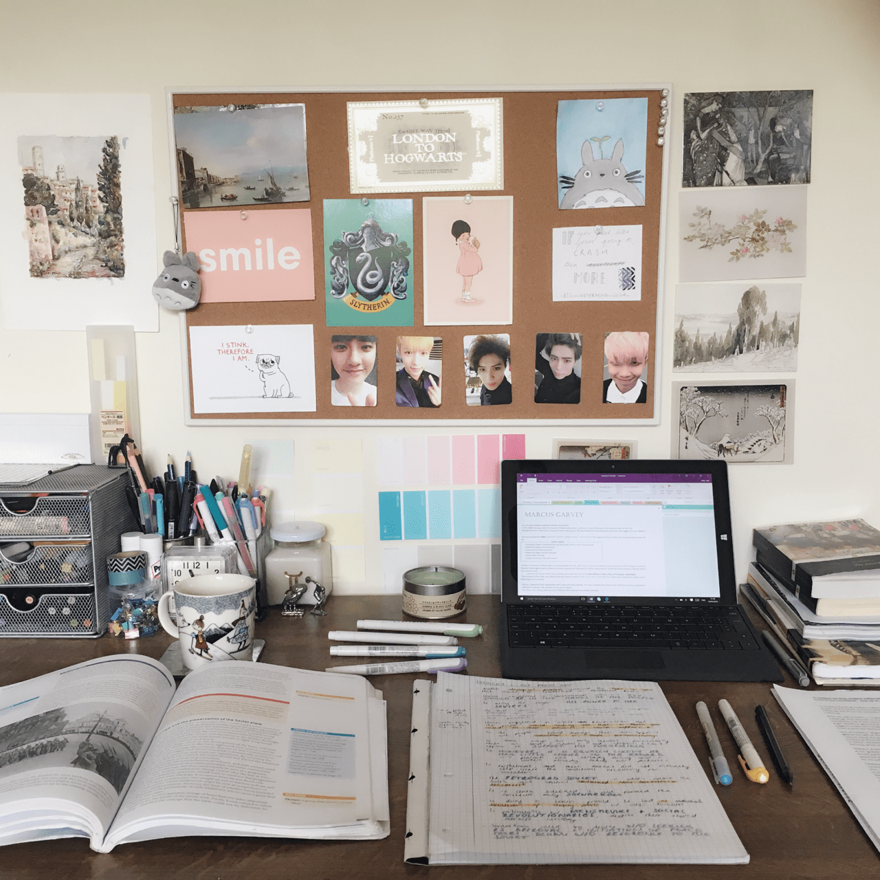 Bedroom Desk Tumblr We All Succumb