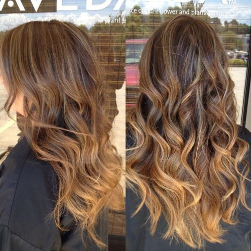 Brunette Ombre Vs Balayage Caramel Hair Color Tumblr