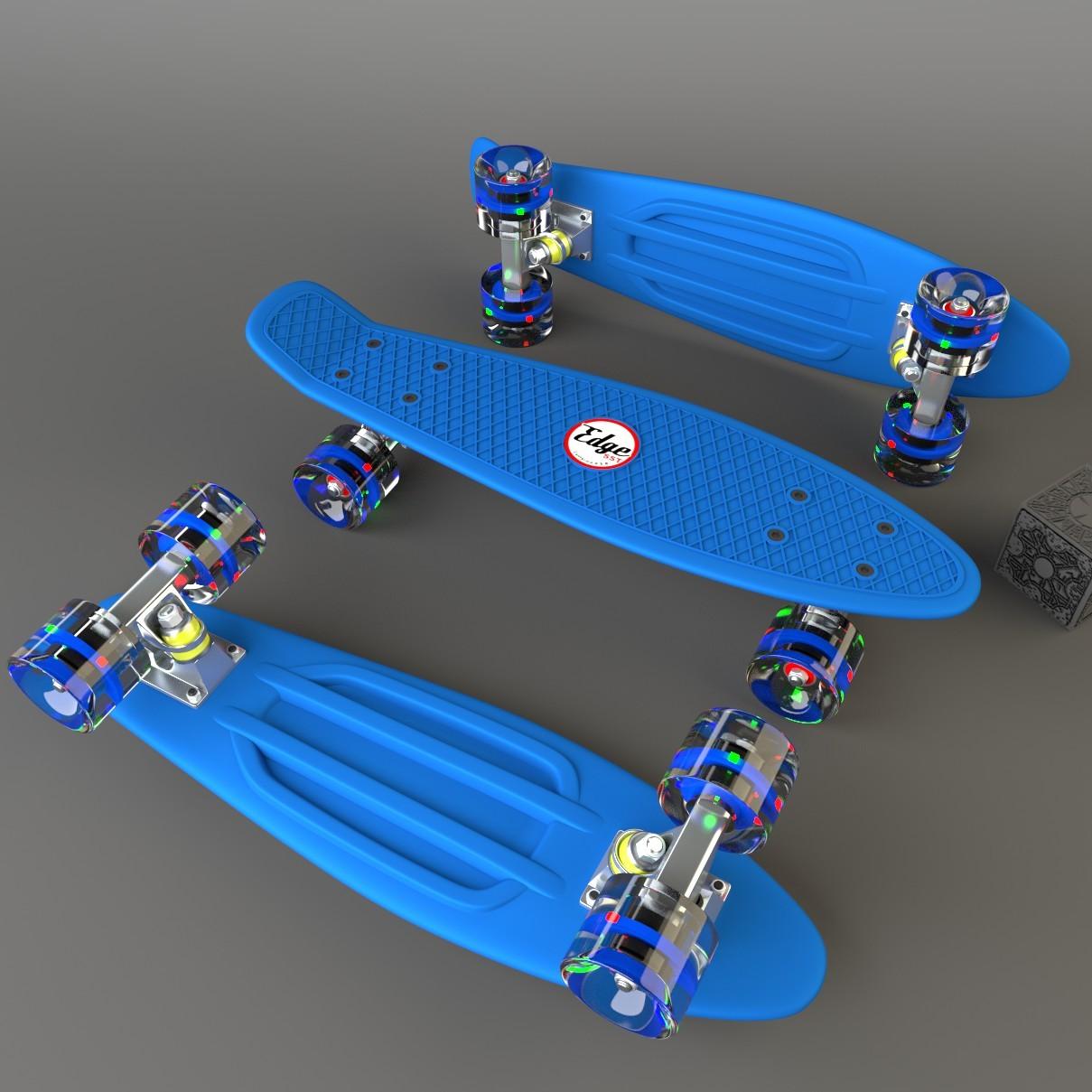 Penny Skateboards Girl Wallpaper Edge Sst