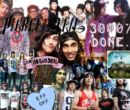Fall Out Boy And Panic At The Disco Wallpaper Band Collage On Tumblr