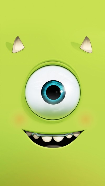 Cute Mike Wazowski Wallpaper Monsters Inc Wallpaper Tumblr
