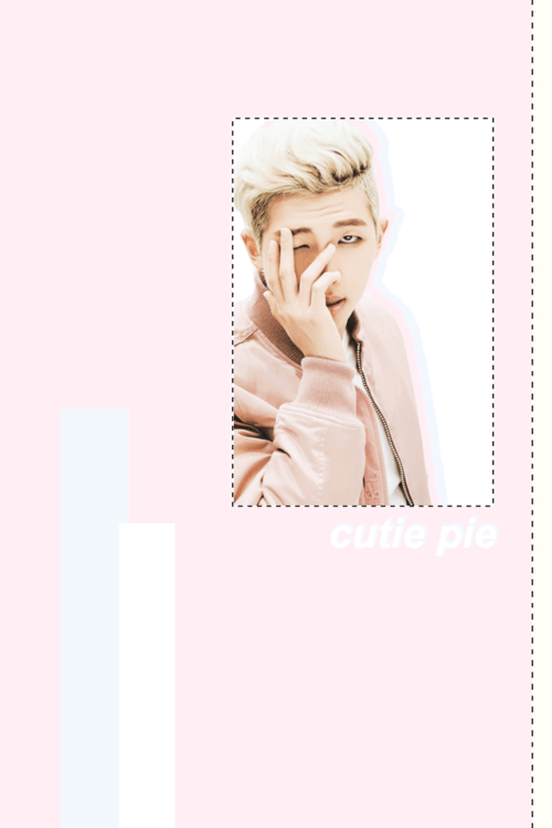 Rap Monster Cute And Funny Wallpaper Taehyung Wallpaper Tumblr