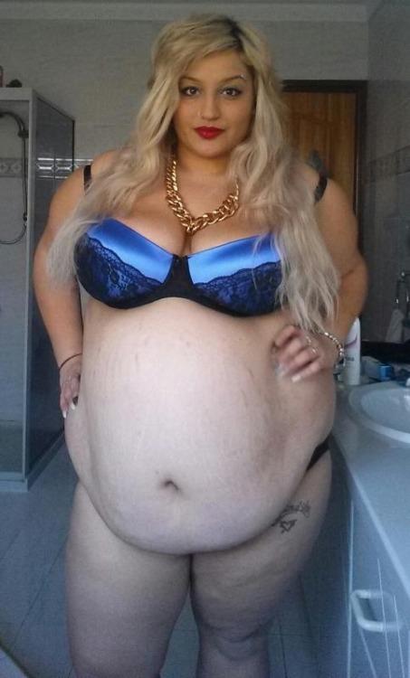 women gaining weight on purpose