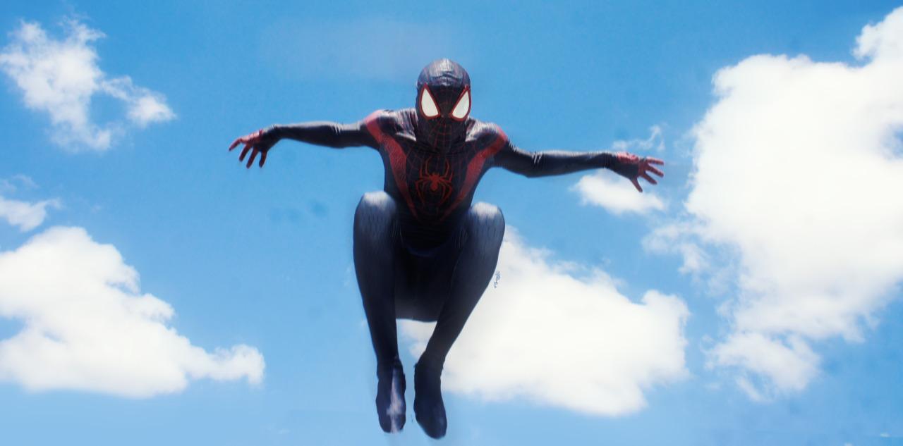 Wallpaper Superhero Marvel 3d Nikolas A Draper Ivey Cinematic Miles Morales Cosplay Yo