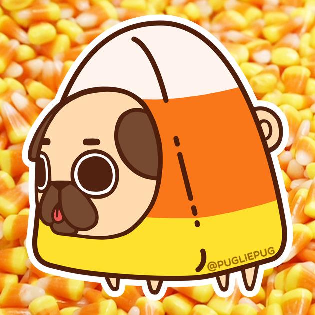 Cute Pug Wallpaper Cartoon Puglie Pug
