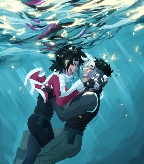 Boy Girl Sketch Wallpaper Underwater Tumblr