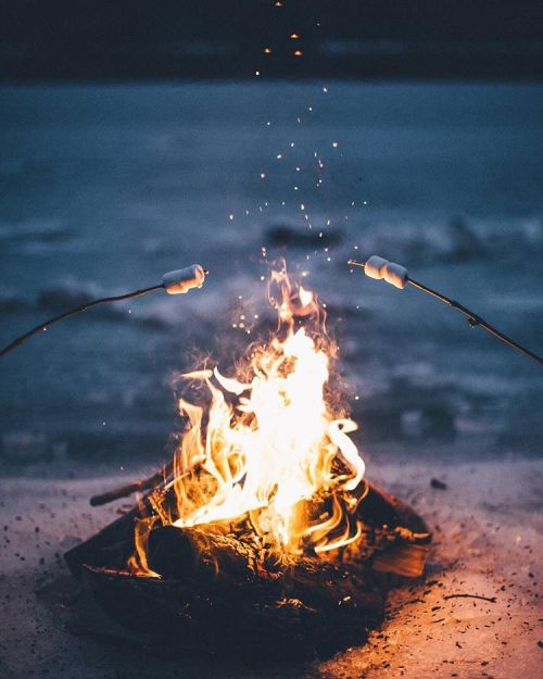 Fall Vibes Wallpaper Camp Fire On Tumblr