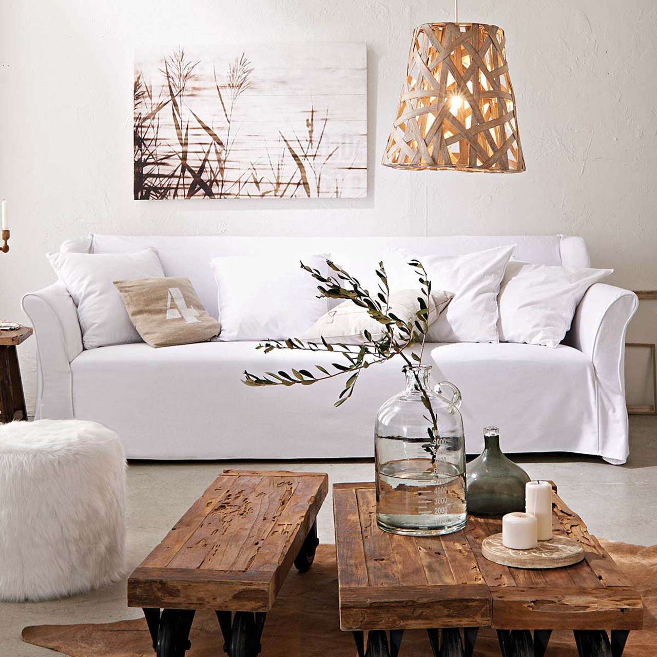 Wohnzimmer Modern Und Antik My Ideal Home Natural Materials