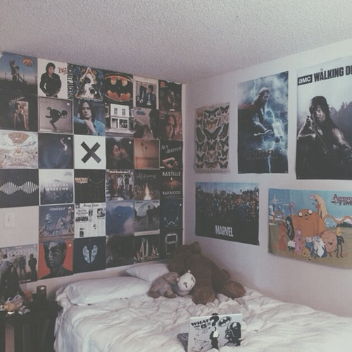 Chambre Ado Rock Hipster Bedroom On Tumblr