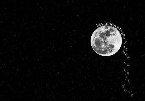 Hey Moon Please Forget To Fall Down Wallpaper Teenvengeance Lyrics Tumblr