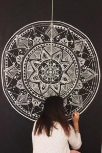 mandala wall decor | Tumblr