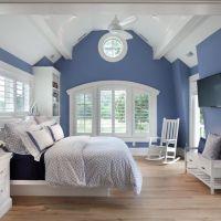 blue bedroom on Tumblr