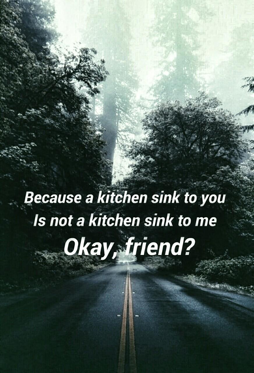 kitchen sinktwenty one pilots kitchen sink lyrics Kitchen Sink Twenty One Pilots