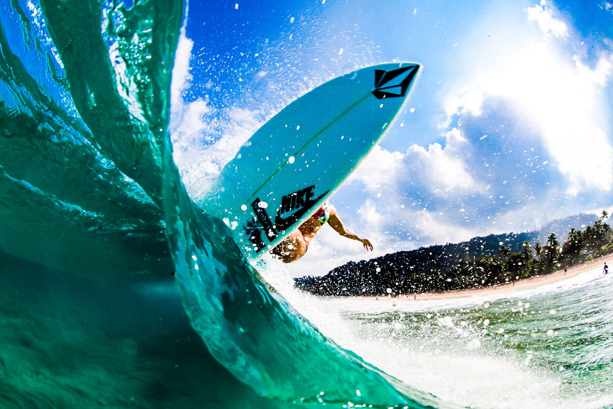 Surfer Girl Bali Wallpaper Coco Ho Cross Section Photog Laserwolf Via Stab
