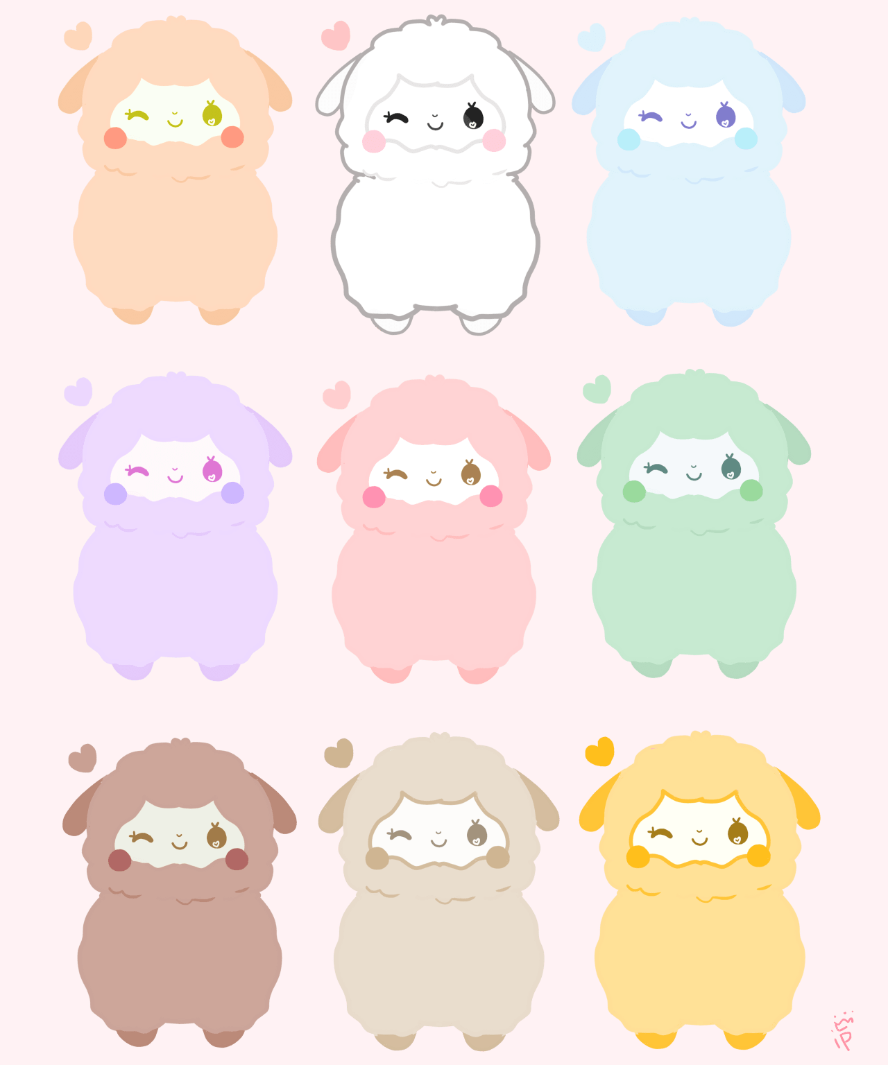 Tumblr Sticker Pastel Blippo Kawaii Shop Prince Insomniac Pastel Rainbow
