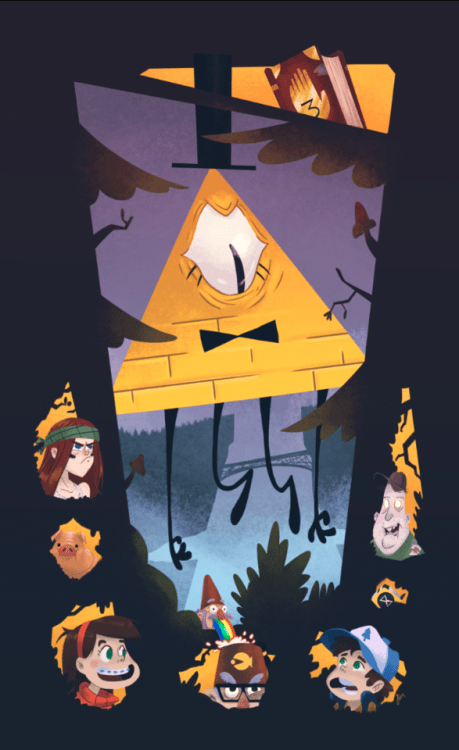 Gravity Falls Bill Cipher Wallpaper Hd Gravity Falls Fan Art Tumblr