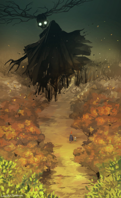 Gravity Falls Landscapes Wallpaper Over The Garden Wall The Beast Tumblr