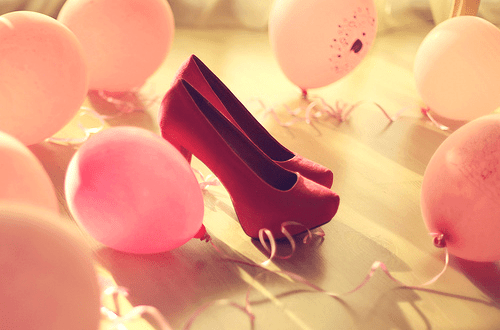 Pizza Wallpaper Cute Pink Balloons On Tumblr