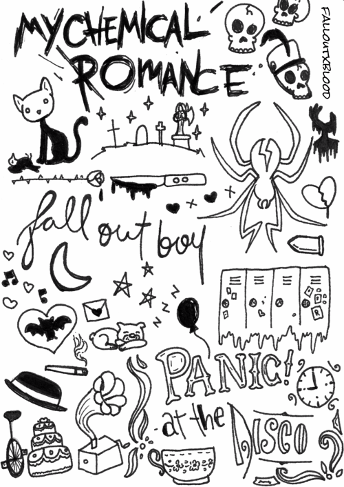 Fob Wallpaper Fall Out Boy Band Member Collage Tumblr
