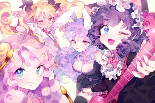 Pretty Pastel Anime Girl Wallpaper Anime Drawing On Tumblr