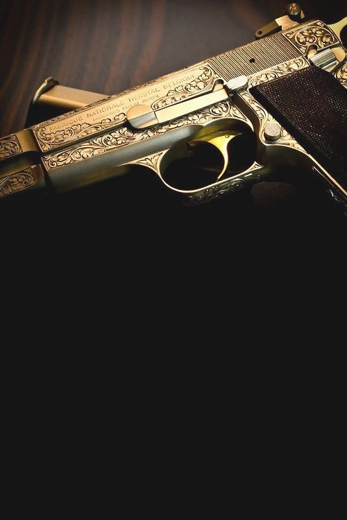 Glo Gang Iphone Wallpaper Gold Gun On Tumblr