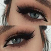 blue makeup trend | Tumblr