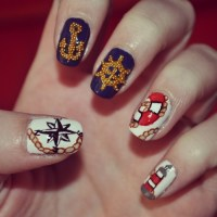 mad hatter nails | Tumblr