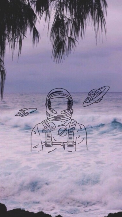 Cracked Screen Wallpaper Iphone 6 Astronauts Tumblr