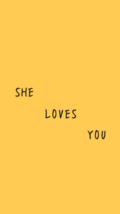 yellow lockscreen | Tumblr