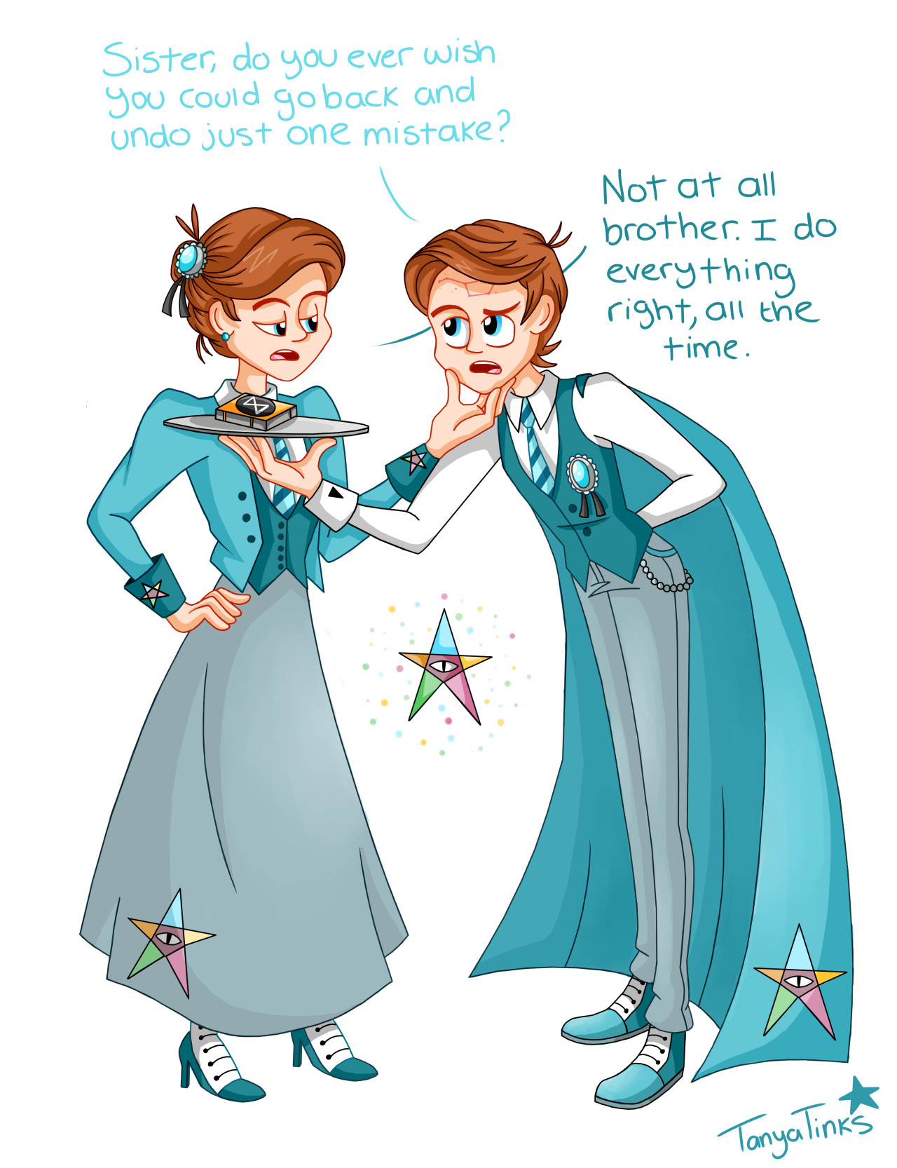 Bioshock Infinite Wallpaper Quote The Reverse Gravity Falls Twins Mabel And Dipper