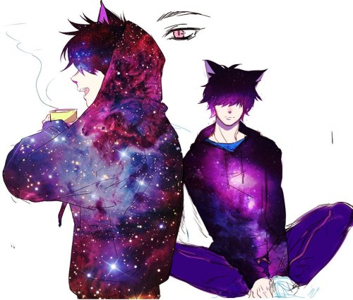 Animated Love Couple Wallpapers Anime Boy Space Tumblr